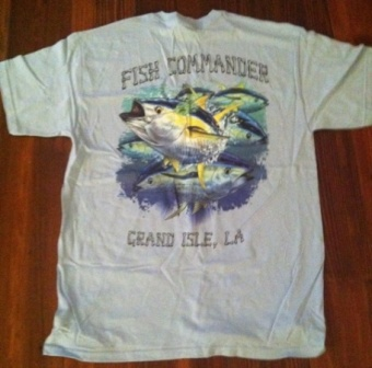Deep Sea fishing T shirts