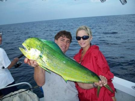 A 50lb dorado in the houston big game tournament was found for Houston fishing charters