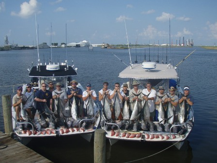 tuna fishing louisiana guides